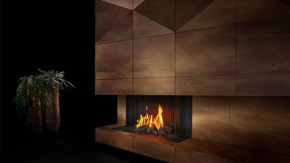 Barbas Gas Fire Panorama 110 - 55