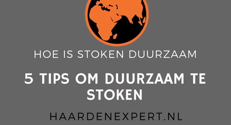 Infographic: 5 tips om duurzaam te stoken