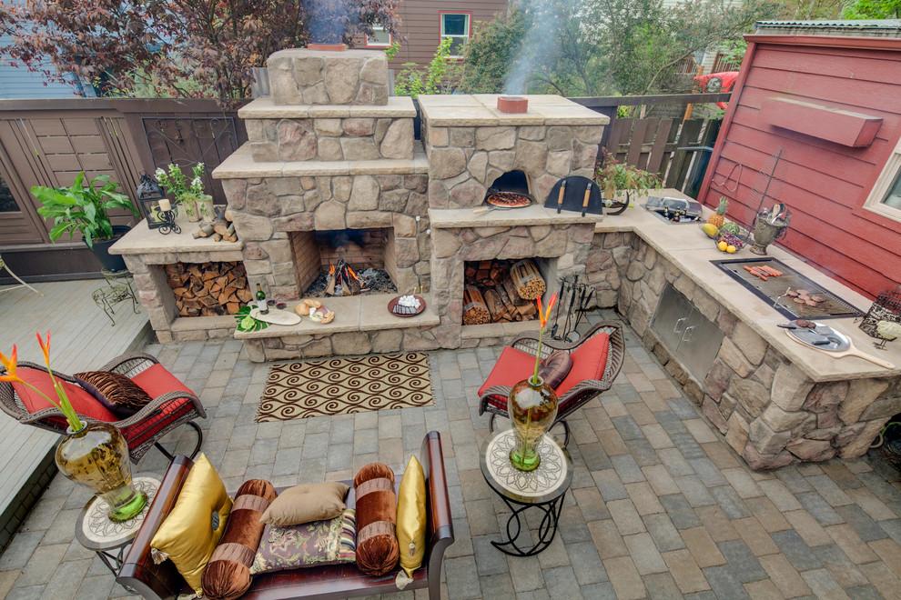 bron paradise restored landscaping exterior design