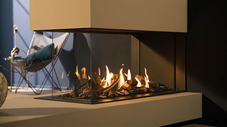 Gesloten gashaard geeft meer warmte