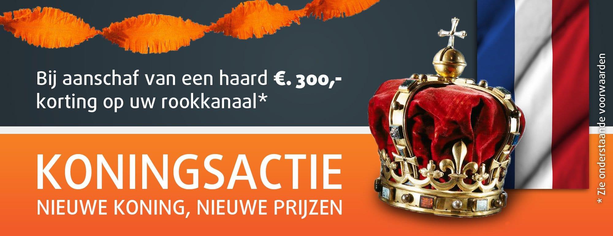 Koningsactie - Nieuwe Koning, Nieuwe Prijzen