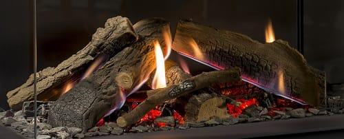 Premium Fire met vlammen