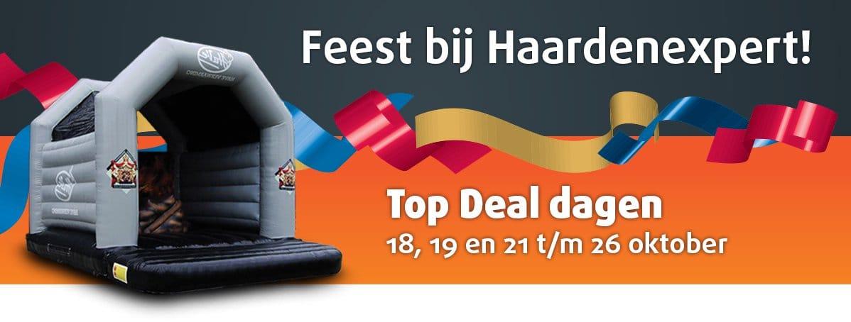 Haardenexpert Top Deal dagen - hoge kortingen!