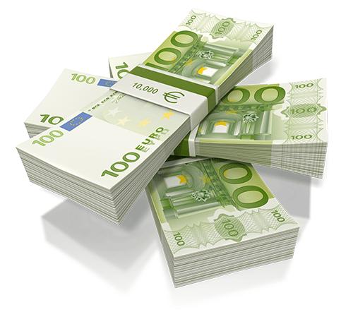 450 euro terug