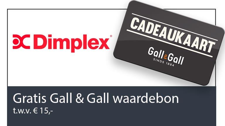 Gall en Gall actie Dimplex Create en Dimplex Connect