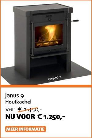 Janus 9 houtkachel